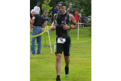 Bluff Creek Triathlon was Scott Carkoff's first at the Olympic distance