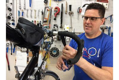 Kyle's Bikes Winter Bike Maintenance Specials will get you bike ready for spring