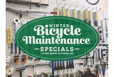 It is time for the Kyle's Bikes winter bike maintenance specials