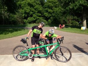 Kyle and Dave at 170 miles