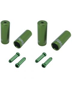 Jagwire End Cap Hop-Up Kit 4.5mm Shift and 5mm Brake