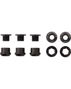 Wolft Set of 5 1 use Dual Hex Fittings Chainring Bolts